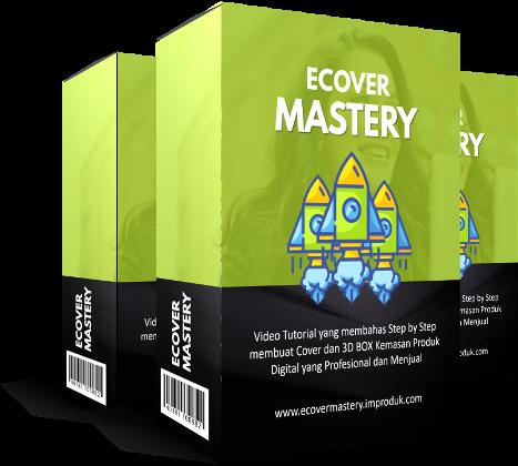 Rahasia Membuat Ecover Ebook Profesional Produk Digital