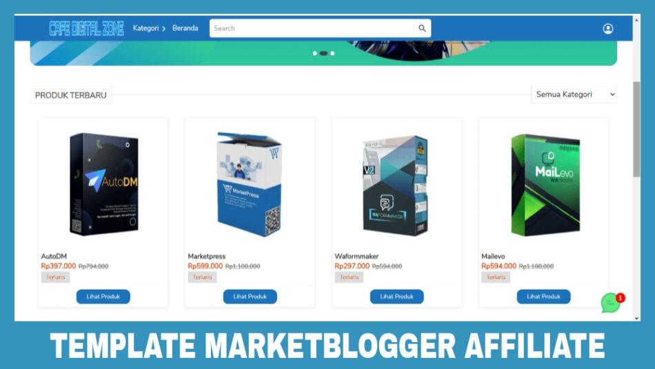 Template Marketblogger Untuk Kebutuhan Affiliate
