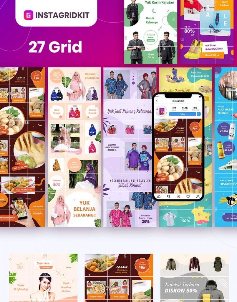 Cara Membuat Puzzle Feed Instagram dengan Canva
