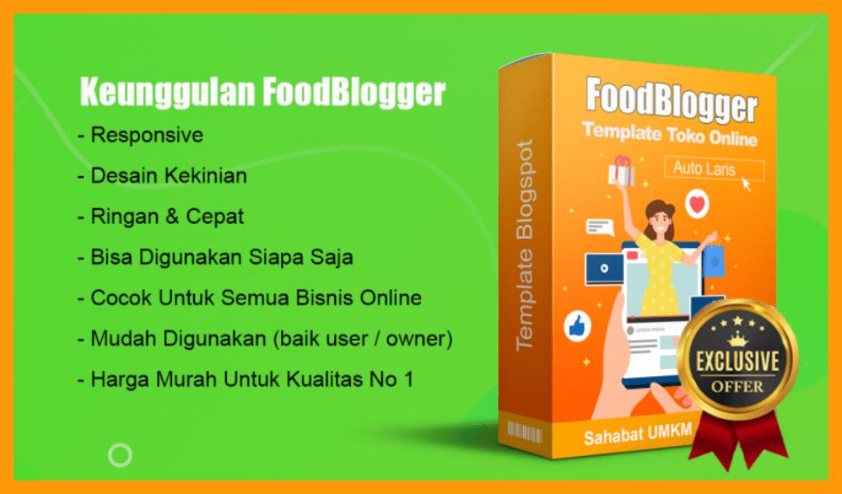 template blogger kuliner