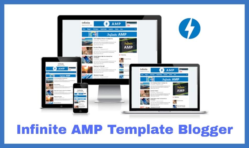 Infinite amp Blogger Template Arlina Gratis