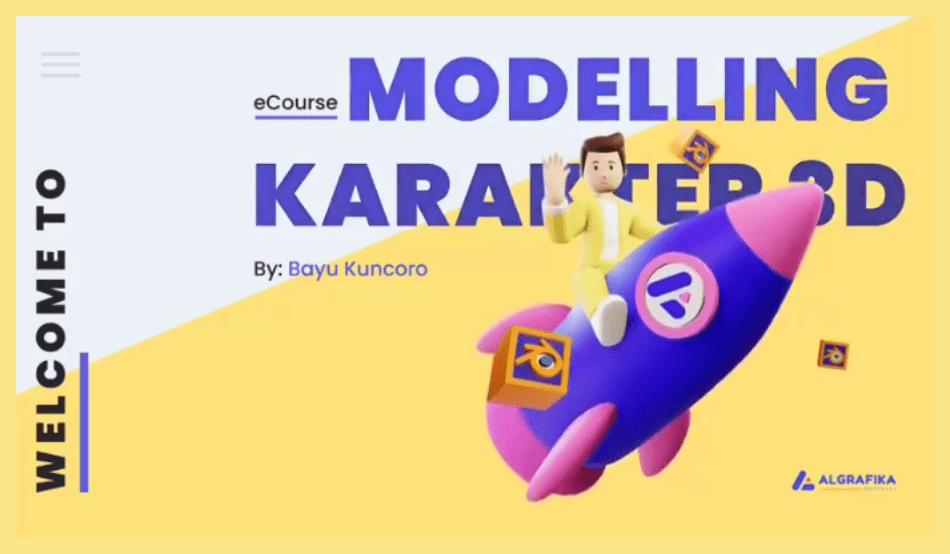 Cara Membuat Karakter 3D di Blender Paling Lengkap
