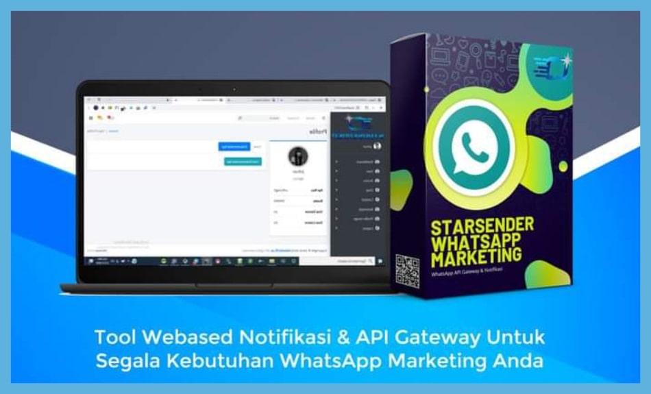 Starsender Tools Whatsapp Marketing Terbaru 2021